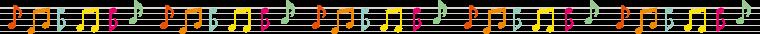音符のライン