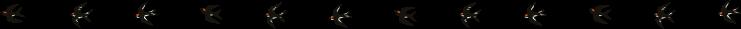 ツバメのイラストライン