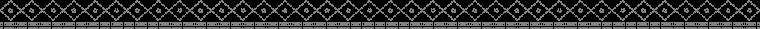 点線とクロスの組み合わせ線