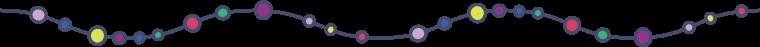 丸と線の組み合わせライン線 4