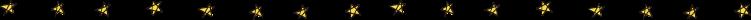手書き風の星ライン